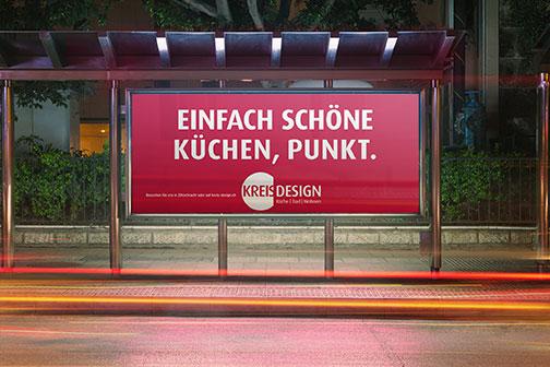 Plakatkampagne Kreis Design