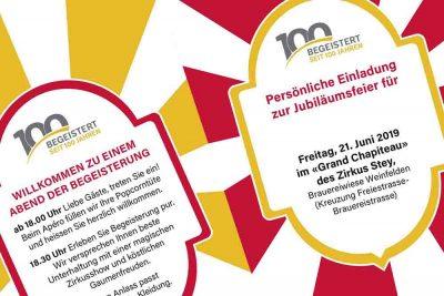 Einladung Jubilaeum Meier Schreinerei