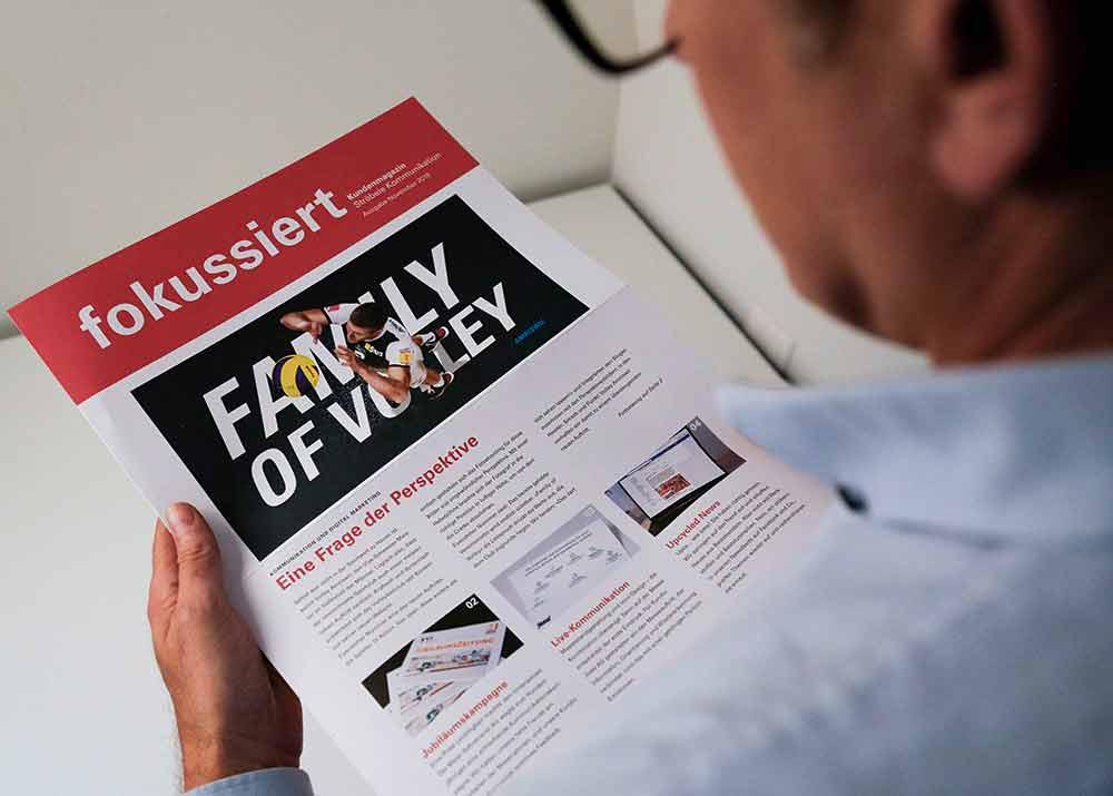 Ströbele Kundenzeitung «Fokussiert»