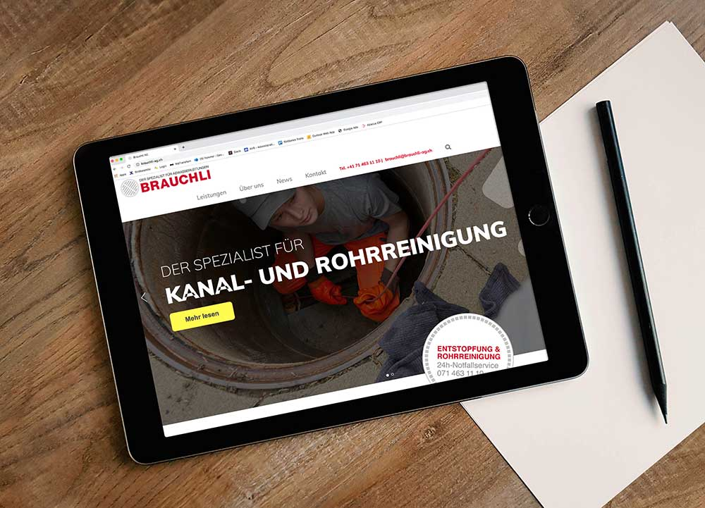 Brauchli Website