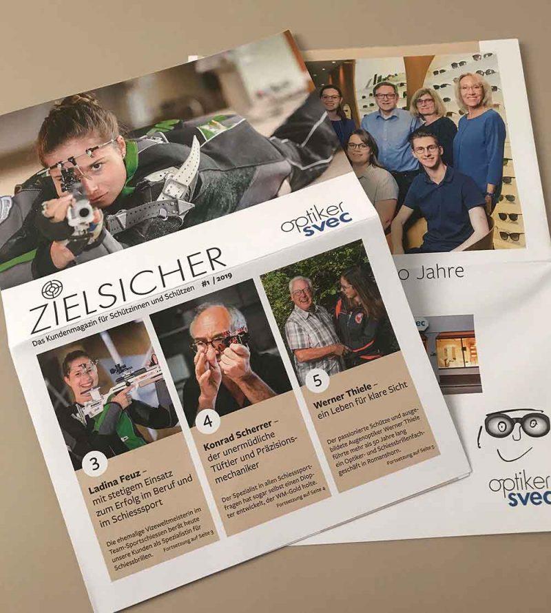 Kundenmagazin Svec Optiker