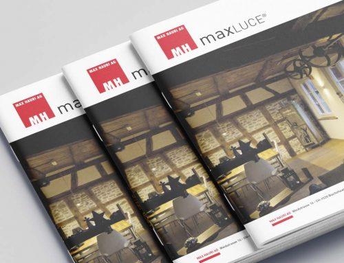 Eine Broschüre von Format