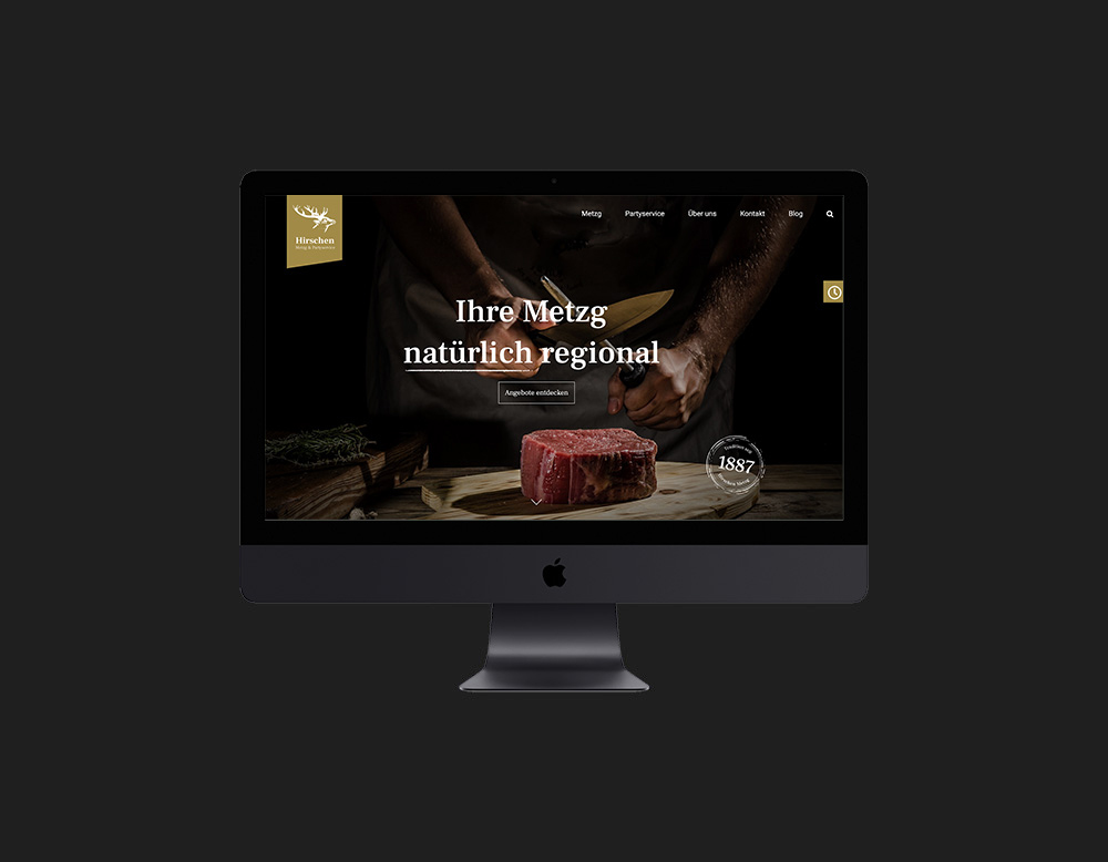 Sagers Hirschen Website