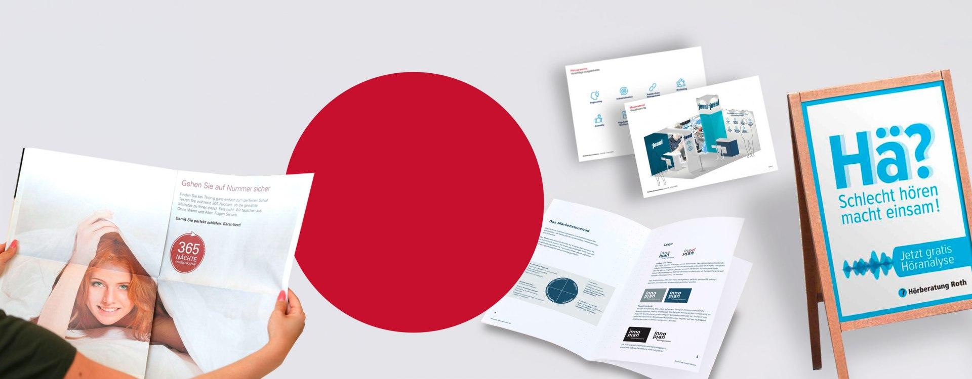 Kommunikation, Werbeagentur, Strategie, Konzept, Text, Gestaltung, Realisierung und Produktion