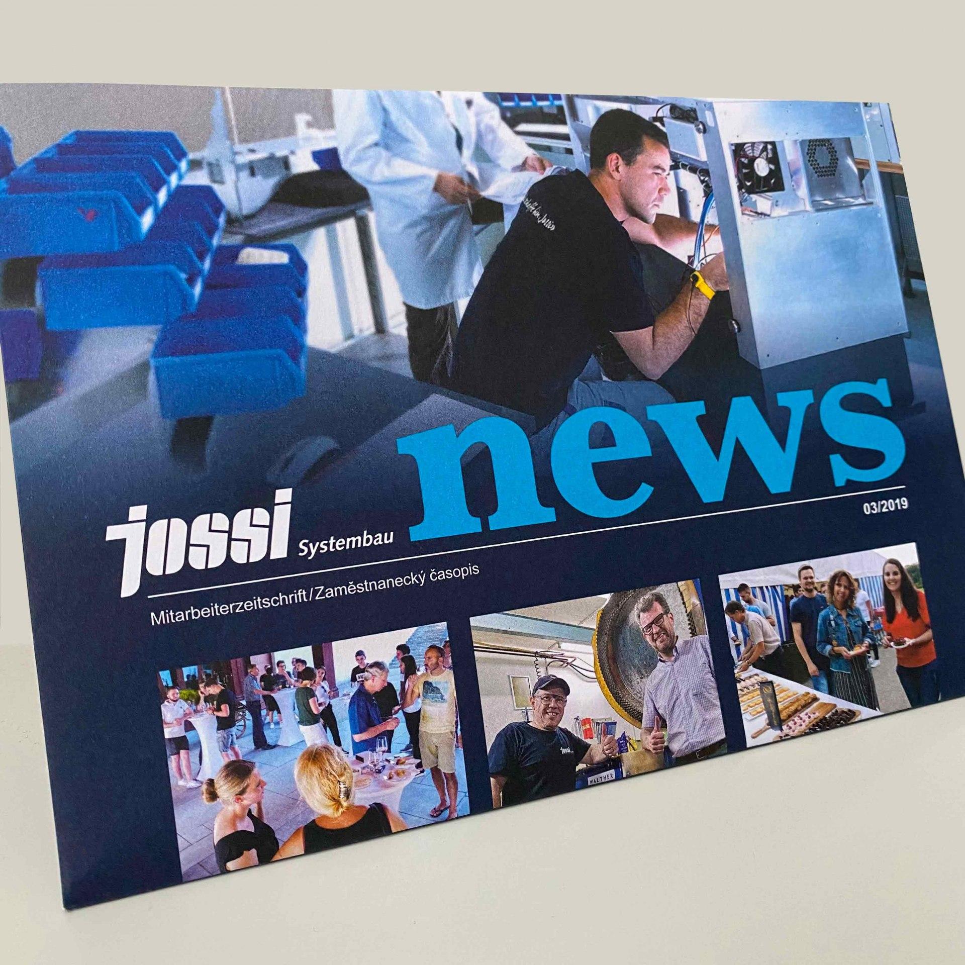 Jossi-Mitarbeiterzeitung